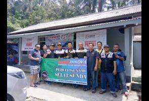 Ringankan Beban Korban Tsunami Banten, Tioci Gelar Bakti Sosial