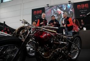Bangga, Motor Custom Indonesia Menang Di Italia
