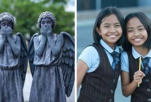 Unik, Remaja Kembar Ini Kerap Tampil Dengan Kostum Cosplay