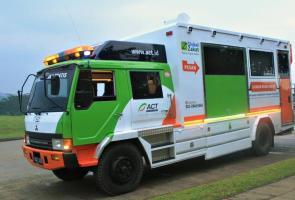 Ktb Donasikan 1 Unit Mitsubishi Fuso Ke Act