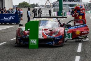 Ferrari Raih Podium Di Balap Le Mans 2019