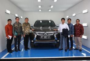 Pt Mmksi Resmikan Bengkel Bodi Dan Cat Di Kalimantan Timur