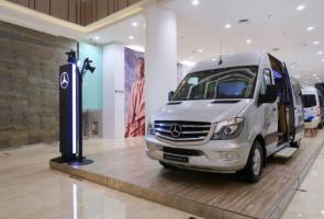 Sprinter Exhibition Hadir Untuk Memperkuat Van Mercedes-Benz