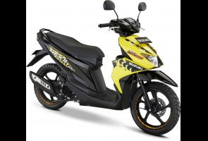 Suzuki Nex Ii Cross  Tampil Dengan Banyak Aksesoris Yang Menarik