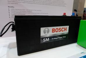 Bosch Hadirkan Aki Khusus Kendaraan Tambang