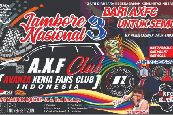 Kota Surabaya Siap Meriahkan Jambore Nasional Axfc Indonesia Ke-3
