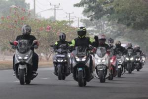 Buktikan Ketangguhan Maxi Yamaha, Jurnalis Touring Ke Bandung