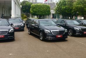 Pelantikan Presiden 2019 Pakai 17 Unit Mercedes-Benz