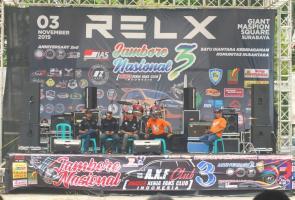 Tasya Rosmala Hibur Jambore Nasional Ke-3 Axfc Di Surabaya