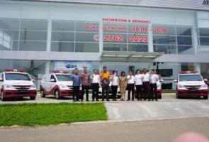 Wuling Motors Donasikan Lima  Ambulans Dan Mobil Klinik