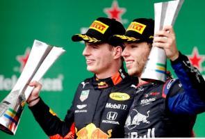 Ulang Sejarah 28 Tahun Lalu, 2 Pembalap F1 Honda Taklukkan Brazil