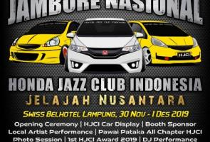 Honda Jazz Club Indonesia Adakan 2nd Jambore Nasional 2019