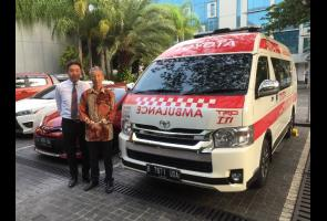 Tingkatkan Safety Di Sirkuit Sentul, Trd Indonesia Sumbang Ambulans