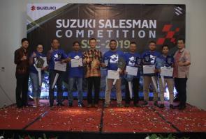 Ini Para Pemenang Suzuki Salesman Competition 2019 Roda Dua