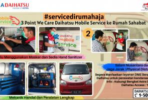 Daihatsu Mobile Service, Solusi Andalan Saat Lagi Di Rumah Aja