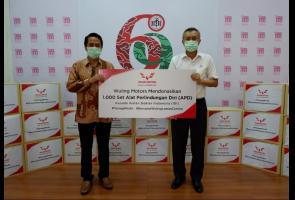 Wuling Donasikan 1.000 Set Apd Ke Idi Guna Perangi Virus Covid-19