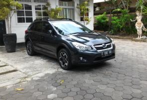 Dark Grey Subaru Xv 2013. Cvt Boxer Awd
