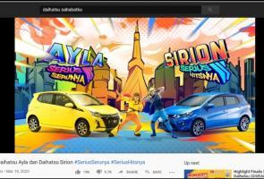 Iklan Daihatsu Ayla & Sirion Raih Penghargaan Dari Youtube