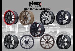 Hsr Wheel Manjakan Pecinta Aliran Jdm Dengan Velg Boroko Series