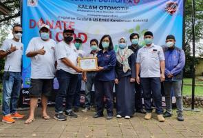 Salam Otomotif Kegiatan Sosial Donor Darah Dan Uji Emisi Kendaraan