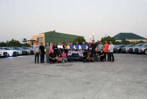 Outlander Sport Club (Osc) Gelar Sahur On The Road