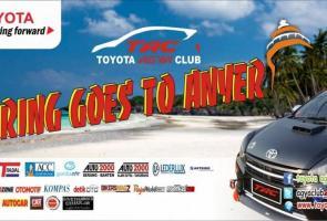 Toyota Agya Club Goes To Anyer