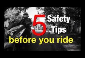 Video: Beberapa Tips Bermotor Yang Aman
