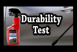 Car Wax Test : Bullsone High Gloss