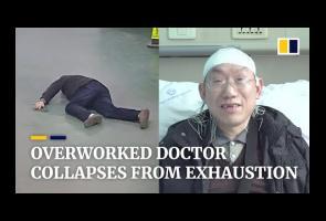 Video: Dokter Di China Ini Kolaps Lantaran Terlalu Banyak Bekerja