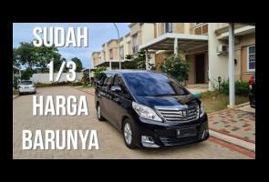 In Depth Review Toyota Alphard Generasi 2 Facelift 2.4g (2012)