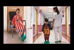 Rs Di Madrid Gunakan Baju Jersey Bekas Untuk Baju Operasi Anak
