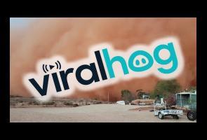 Video: Detik-Detik Badai Pasir Terjang Kawasan Di Australia