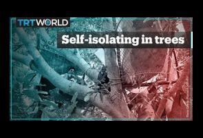 Diminta Untuk Isolasi Diri, Warga India Ini Tinggal Di Atas Pohon