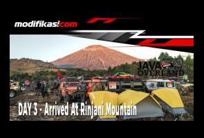 Java Overland - Day 3 : Gunung Rinjani Sebagai Tujuan Tertinggi