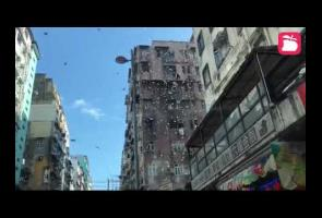 Video: Warga Hong Kong Dikejutkan Dengan Hujan Uang