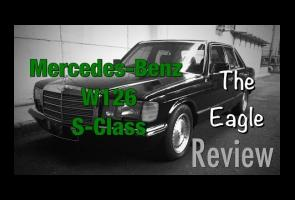 Video: Review The Eagle Mercedes-Benz W126