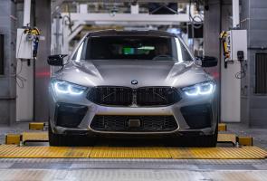 Bmw 8-Series Gran Coupe Resmi Masuk Jalur Produksi
