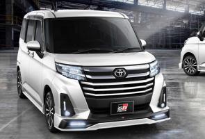 Gazoo Racing Buat Toyota Roomy Makin Agresif Dengan Aerokit Baru