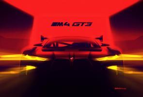 Bmw Rilis Teaser M4 Gt3 Baru, Ungkapkan Grill Yang Super Besar