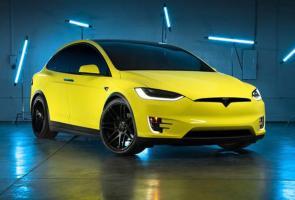Tesla Tawarkan Layanan Body Wrap Yang Menarik Di China