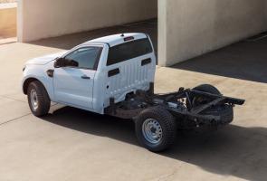 Ford Ranger Hadir Dengan Varian Chassis-Cab Di Pasar Inggris