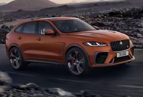 Jaguar F-Pace Svr Facelift Tampil Lebih Seksi & Lebih Bertenaga