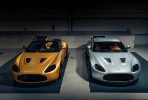 Aston Martin Pamerkan Unit Pertama Vantage V12 Zagato Heritage Twin