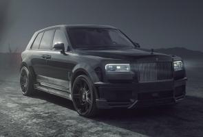 Spofec Buat Rolls-Royce Cullinan Black Badge Terlihat Semakin Liar
