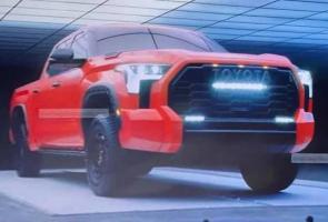 Foto-Foto Toyota Tundra Trd Pro Terbaru Bocor Di Internet
