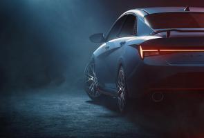 Hyundai Pamerkan Teaser Awal Elantra N Yang Sporty