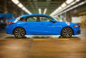 Honda Amerika Resmi Produksi Civic Hatchback Generasi Ke-11