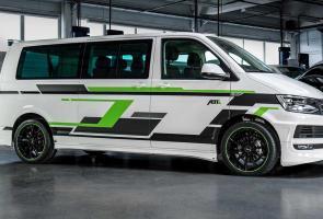 Abt Buat Vw T6 Transporter Elektrik Makin Sporty Dengan Kit Baru