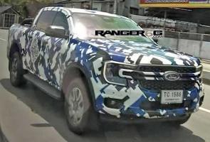 Spyshot: Ford Ranger Generasi Baru Punya Wajah Mirip Maverick