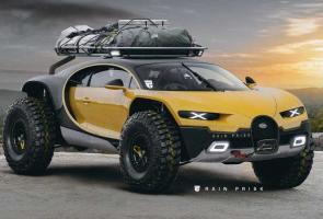 Ini Yang Terlihat Jika Bugatti Chiron Berubah Jadi Hyper-Offroader